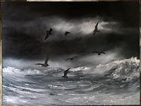 Henri-Lehmann-Landscapes-Animals-Water