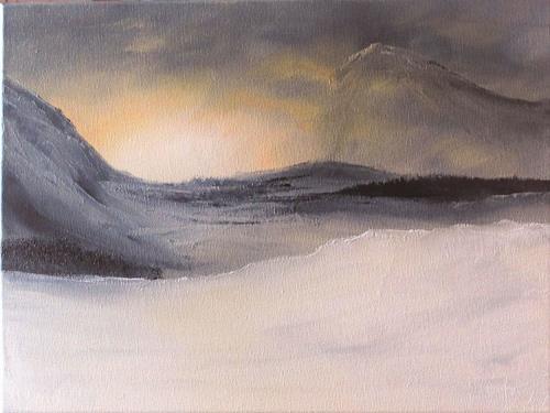 Henri Lehmann, in meinen Träumen, Landscapes: Winter, Contemporary Art