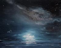 Henri Lehmann, Milky way with calm sea