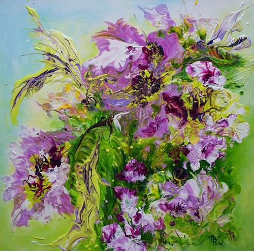 Marion Bellebna, Mai, Plants: Flowers, Modern Age, Expressionism