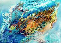 Marion-Bellebna-Nature-Fantasy-Modern-Age-Abstract-Art-Non-Objectivism--Informel-