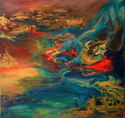 Marion Bellebna, Elemente, Abstract art, Fantasy, Non-Objectivism [Informel]