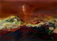Marion-Bellebna-Nature-Miscellaneous-Fantasy-Modern-Age-Abstract-Art-Non-Objectivism--Informel-