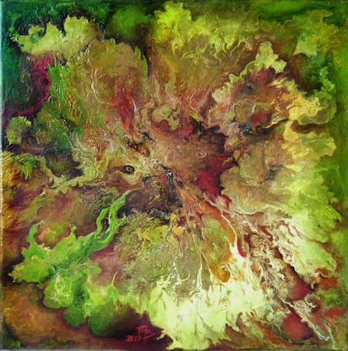 Marion Bellebna, Natur abstrakt 38, Abstract art, Nature: Miscellaneous, Non-Objectivism [Informel], Expressionism
