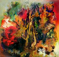 Marion-Bellebna-Fantasy-Nature-Miscellaneous-Modern-Age-Abstract-Art-Non-Objectivism--Informel-