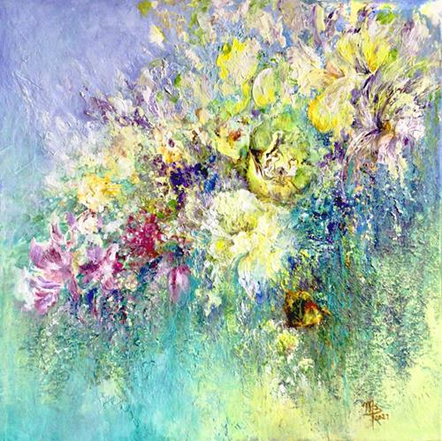 Marion Bellebna, Flowery, Nature: Miscellaneous, Plants: Flowers, Non-Objectivism [Informel], Expressionism