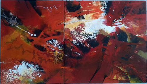 Martina Hartusch, C 25, Abstract art, Contemporary Art