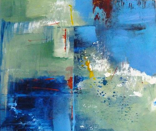 Martina Hartusch, C15, Abstract art, Abstract art, Contemporary Art