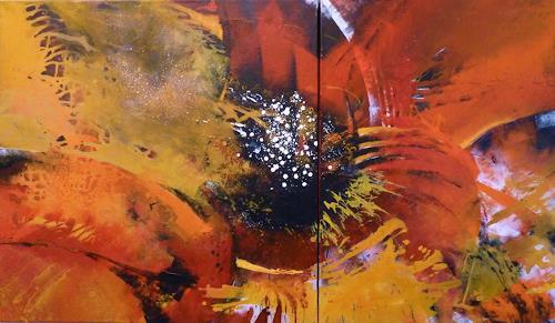 Martina Hartusch, C63, Abstract art, Abstract art, Contemporary Art