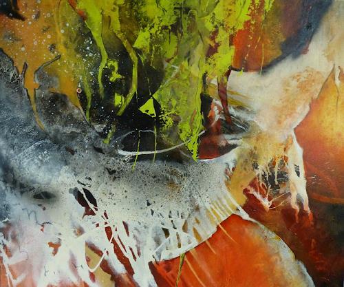 Martina Hartusch, C64, Abstract art, Contemporary Art, Abstract Expressionism