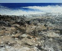 Martina-Hartusch-Landscapes-Beaches-Landscapes-Sea-Ocean-Contemporary-Art-Contemporary-Art