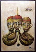 Juergen-Bley-Mythology-People-Group-Modern-Age-Avant-garde-Surrealism