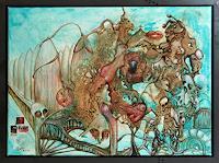 Juergen-Bley-Miscellaneous-Erotic-motifs-Emotions-Love-Modern-Age-Avant-garde-Surrealism