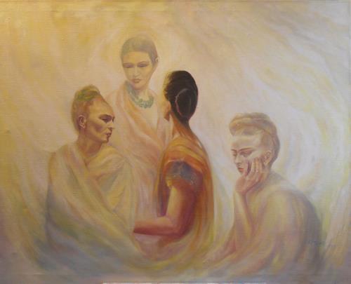 Elisabeth Ksoll, Hommage a Frida Kahlo, History, Situations, Expressionism