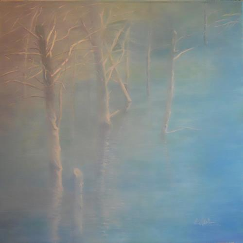 Elisabeth Ksoll, Wassermagie, Miscellaneous Landscapes, Poetry, Abstract Art