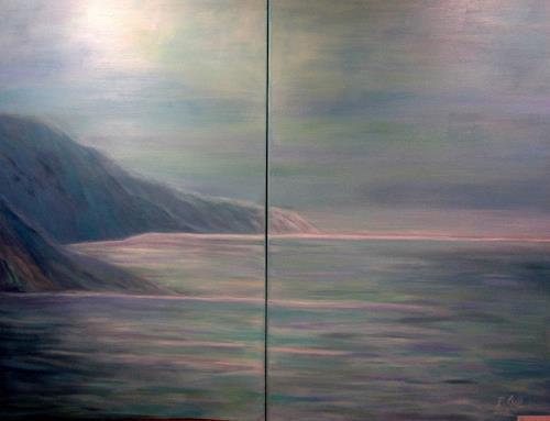Elisabeth Ksoll, Finistere, Landscapes: Sea/Ocean, Emotions
