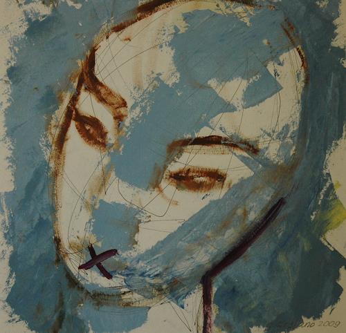 Gabriela Arellano, Silencio, Abstract art, Expressionism, Abstract Expressionism
