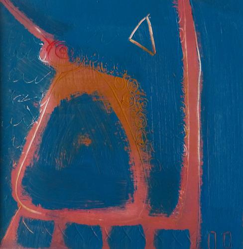 Gabriela Arellano, o.T., Abstract art, Non-Objectivism [Informel], Abstract Expressionism