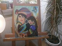 jacky-bakker-People-Families-Fantasy-Modern-Age-Abstract-Art