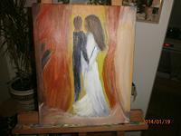 jacky-bakker-Abstract-art-People-Couples-Modern-Age-Abstract-Art