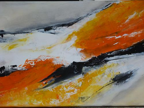 Angelika Frank, Energie, Abstract art