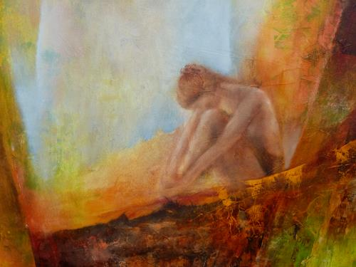 Angelika Frank, Jane, Erotic motifs: Female nudes, Fairy tales, Expressionism