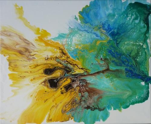 Angelika Frank, FarbenspielII, Abstract art, Abstract Art