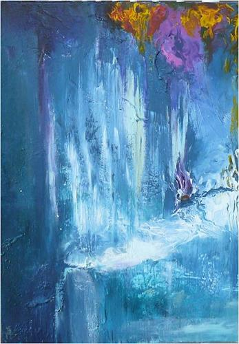 ReMara, In a land called fantasy, Abstract art, Fantasy, Contemporary Art, Expressionism