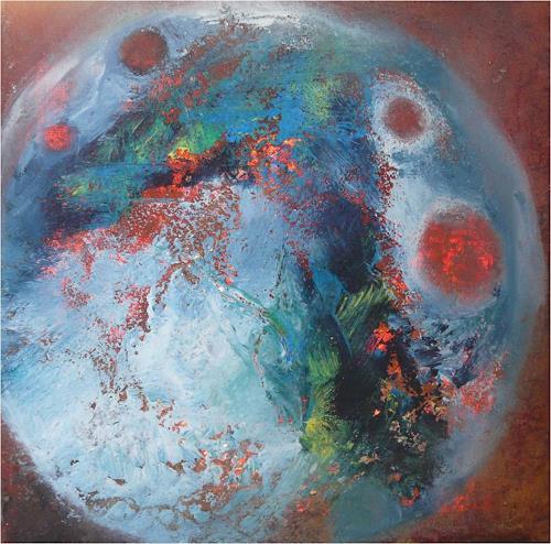 ReMara, Little Planet, Abstract art, Fantasy, Contemporary Art