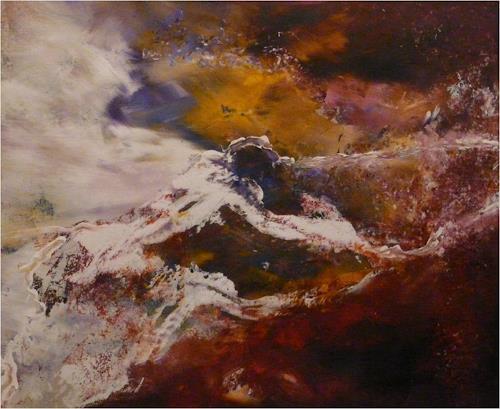 ReMara, Schneefantasie, Fantasy, Nature, Contemporary Art, Expressionism