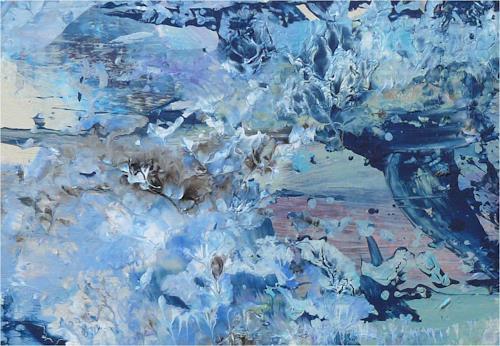 ReMara, blaubedeckt, Plants, Nature, Contemporary Art, Expressionism