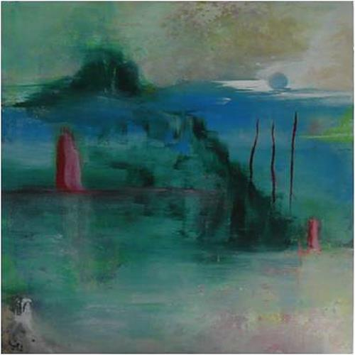 ReMara, Wo liegt IMMER?, Landscapes, Abstract art, Contemporary Art, Expressionism