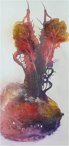 ReMara, Lebensfrucht, Fantasy, Plants: Fruits, Contemporary Art, Expressionism
