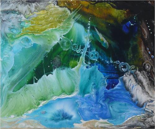 ReMara, Wasserlust, Fantasy, Nature: Water, Contemporary Art, Expressionism