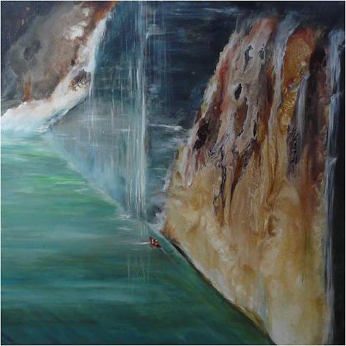 ReMara, Wagemut, Miscellaneous Landscapes, Symbol, Contemporary Art, Expressionism