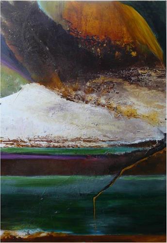 ReMara, Sei deiner Tiefe treu, Abstract art, Poetry, Contemporary Art, Expressionism