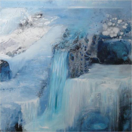 ReMara, Eiszeit, Landscapes: Winter, Fantasy, Contemporary Art, Expressionism