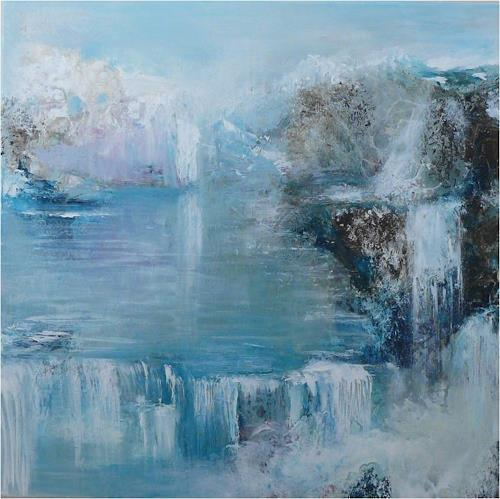 ReMara, Eiszeit, Landscapes: Winter, Fantasy, Contemporary Art, Expressionism
