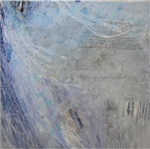 ReMara, Ein kleines Schneewindgedicht, Abstract art, Times: Winter, Contemporary Art
