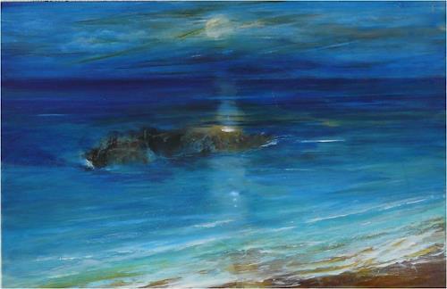 ReMara, Meine Erinnerungen an Korfu, Fantasy, Nature: Water, Contemporary Art