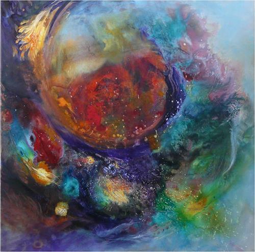 ReMara, Werden und Vergehen, Abstract art, Poetry, Contemporary Art, Abstract Expressionism