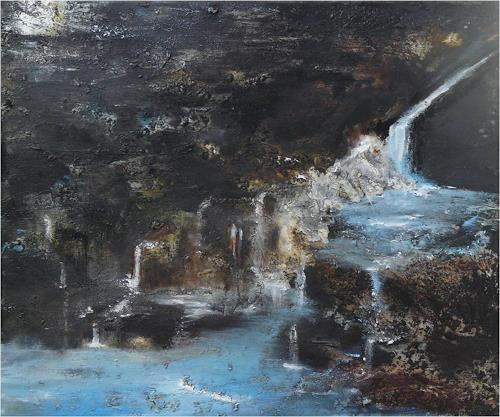 ReMara, Mondscheingeschichten, Abstract art, Poetry, Contemporary Art, Expressionism