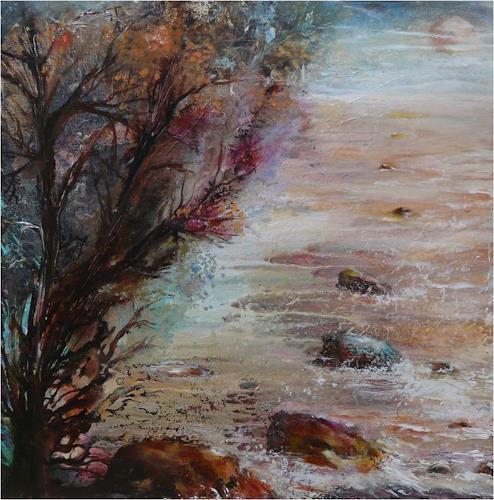 ReMara, Kleine Herbstreise, Nature: Miscellaneous, Times: Autumn, Contemporary Art, Expressionism