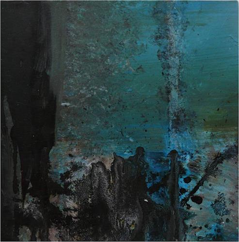 ReMara, 3 kleine Schwarze..., Abstract art, Miscellaneous, Contemporary Art, Abstract Expressionism