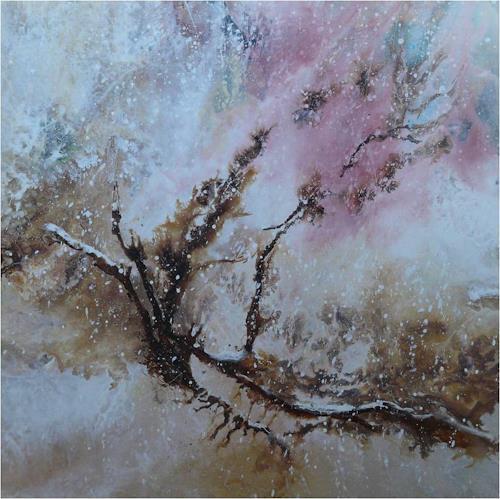 ReMara, Schneeträume, Abstract art, Times: Winter, Contemporary Art, Expressionism
