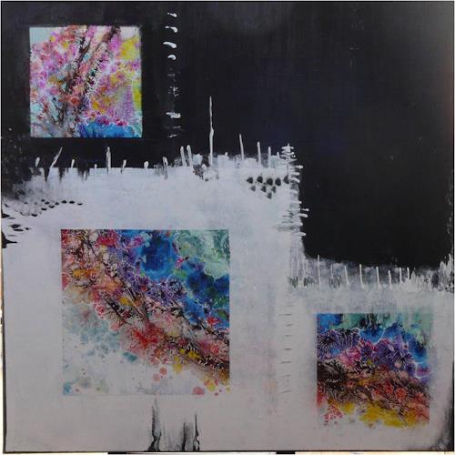 ReMara, Und draußen ist es Frühling..., Abstract art, Miscellaneous Emotions, Contemporary Art, Abstract Expressionism