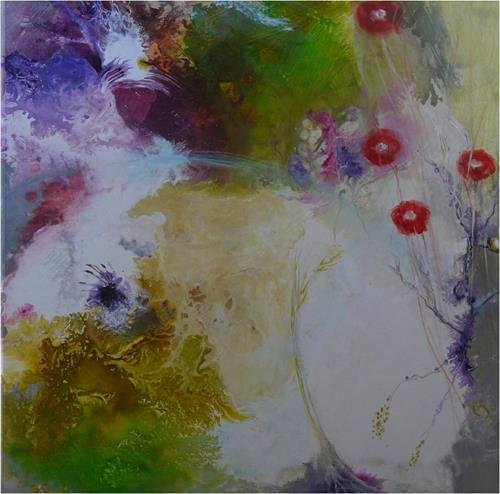ReMara, Frühlingskleid, Abstract art, Times: Spring, Contemporary Art, Expressionism