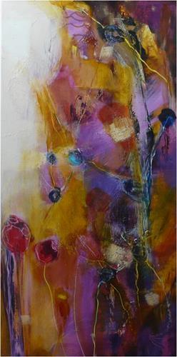 ReMara, Sonnenzeit, Abstract art, Times: Summer, Contemporary Art, Expressionism