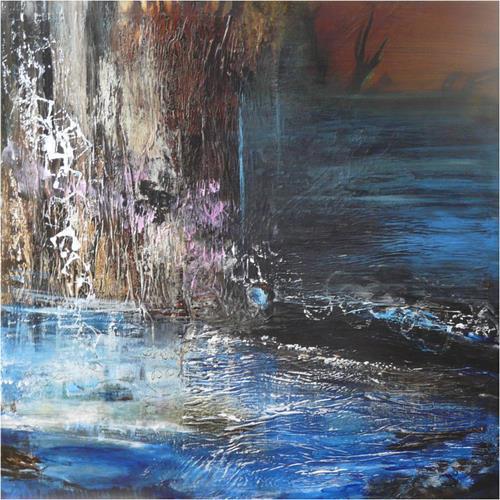 ReMara, An einem kalten Februarabend..., Abstract art, Emotions: Grief, Contemporary Art