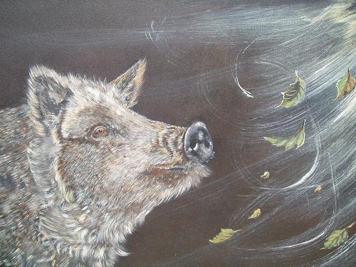 Erna Ryter, es liegt was in der Luft, Miscellaneous Animals, Naturalism